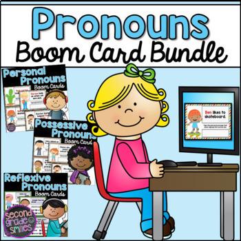 Pronoun Boom Card Bundle