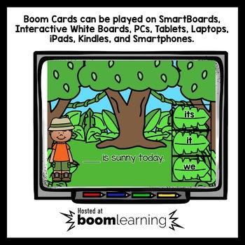 Boom Cards Pick a Pronoun