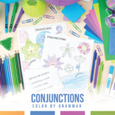 Color by Grammar: Types of Conjunctions