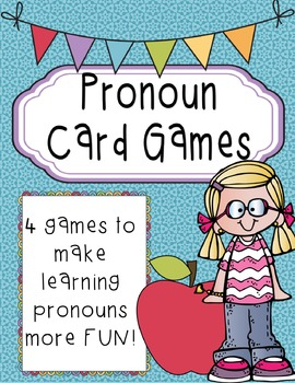 Pronoun Card Games