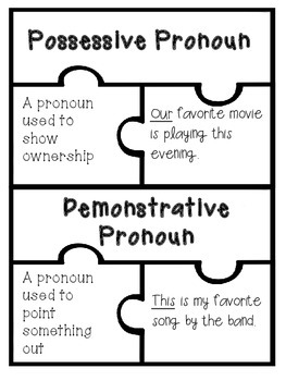 Pronoun Case and Type Puzzle Activity {3 sets of activities AND teacher tips!}