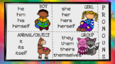 Pronoun Chart & Printable Activity