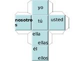 Pronoun Cube