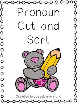 Pronoun Cut and Sort