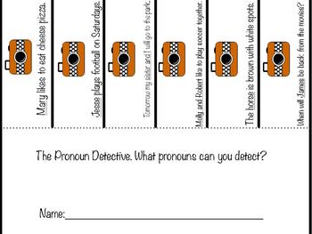 Pronoun Detective