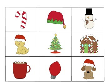 Pronoun Elves, He, She, They, His, Hers, Theirs, Language & AAC, Christmas