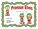 Pronoun Elves, He, She, They, His, Hers, Theirs, Language