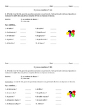 Pronoun En Partner Oral Activity