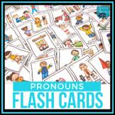 Pronoun Flash Cards