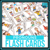 Pronoun Flash Cards