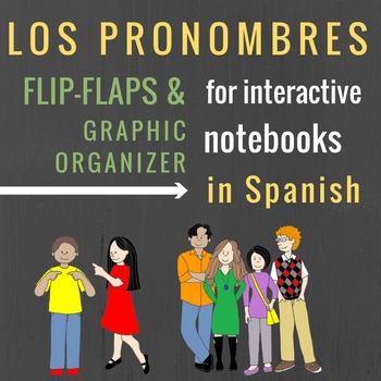 Pronoun Flip-Flaps for Interactive Notebooks in Spanish