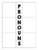 Pronoun Foldable