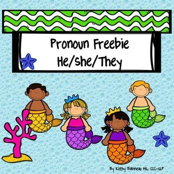 Pronoun Freebie