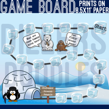 Pronoun Game: Professor Penguin