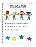 Pronoun Game Set