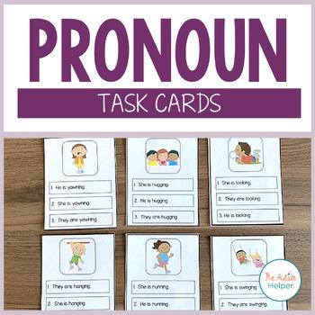 Pronoun Grammar Boards