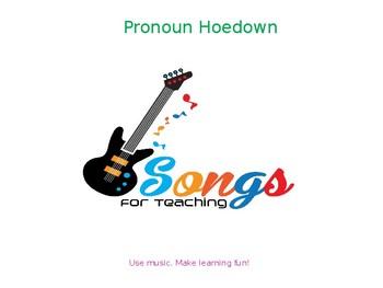 Pronoun Hoedown