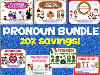 Pronoun Holiday Bundle