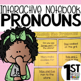 Pronoun Interactive Notebook Activities