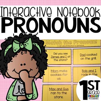 Pronoun Interactive Notebook Activities