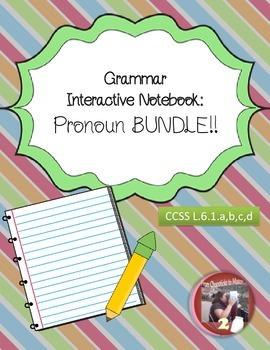 Pronoun Interactive Notebook Bundle