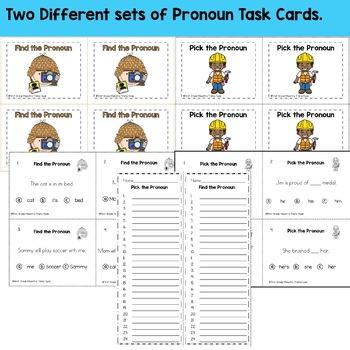 Pronouns Unit