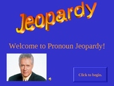 Pronoun Jeopardy