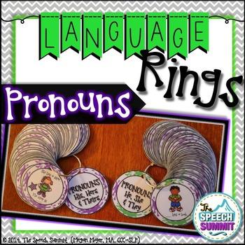 Pronoun Language Rings