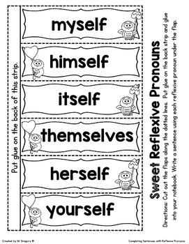 Pronoun Love: A Pronoun and Reflexive Pronoun Mini Unit