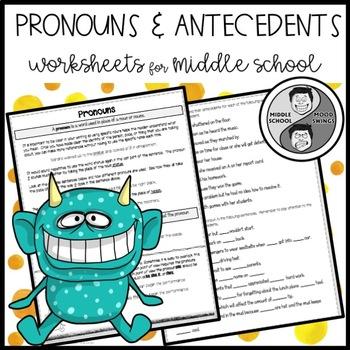 Pronoun Mini Lesson