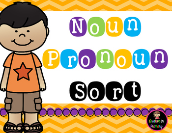 Noun Pronoun Sort