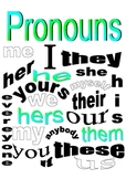 Pronoun Packet