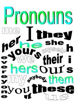 Pronoun Packet