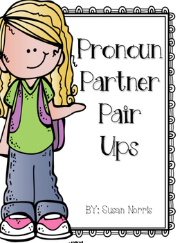 Pronoun Partner Pair Ups