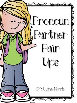 Pronoun Partner Pair Ups