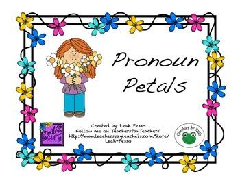 Pronoun Petals