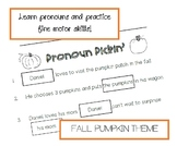 Pronoun Pickin' - Pronoun Matching Cut & Paste!