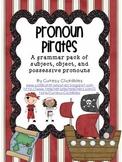 Pronoun Pirates- Subject, Object, and Possessive Pronoun Practice