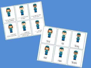 Pronoun Police Interactive Game!