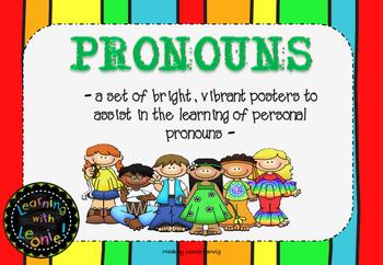 Pronoun Posters Free