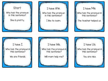 Pronoun Practice for Beginners