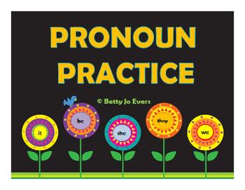 Pronoun Practice