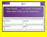 Pronoun Practice Exercise for Smartboard