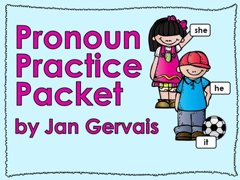 Pronoun Practice Packet