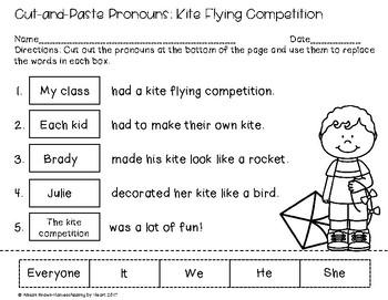 Cut and Paste Pronouns