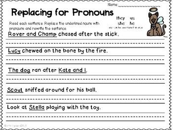 Pronoun Puppies!