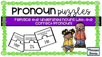Pronoun Puzzles