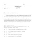 Pronoun Quiz I
