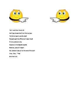 Pronoun Rap