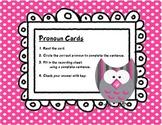 Pronoun Review - Task Cards